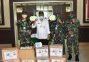 Ketua DPRD Salurkan Bantuan APD Ke Korem 101/Antasari