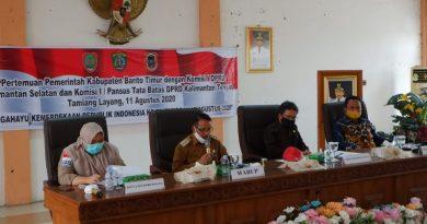 Komisi I Tinjau Perbatasan Provinsi Kalsel – Kalteng