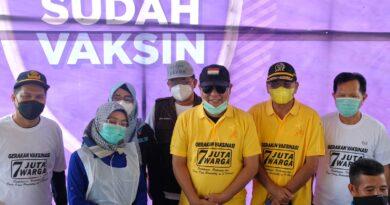 Ketua DPRD Pantau Pelaksanaan Gerakan Nasional Vaksinasi